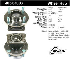 Wheel Bearing and Hub Assembly-Premium Hubs Rear Centric fits 11-18 Ford Fiesta