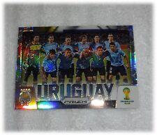 2014 Panini Prizm World Cup Refractor Team Photos - Uruguay #31