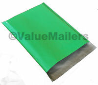 400 6x9 GREEN Poly Mailers Shipping Envelopes Bag Quality 2.5 Mil Color Bags