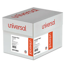 UNIVERSAL Green Bar Computer Paper 15lb 14-7/8 x 11 Perforated Margins 3000