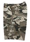 Men's WRANGLER 100% Cotton Camouflage Cargo Shorts Size - 32