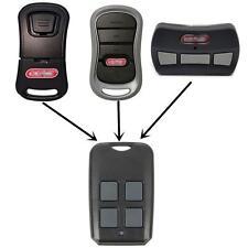 Genie G3T-R/GM3T-BX/GITR-R/37517S 315/390MHz 4 Button Remote Control Garage Door