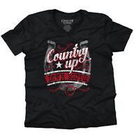Down South Rough Country Shirt Cowboy Cowgirl Gift V-Neck T Shirt