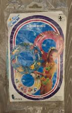 "Vintage 1994 Intex The Wet Set 24"" Inflatable Swim Ring Fish Blue - New!"