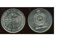 SRI LANKA  1 rupee  1994  ( SUP + )