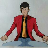 Lupin The 3rd Third DEAD OR ALIVE Original Animation Cel Painting Anime Japan