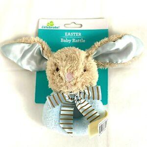 Bunny Baby Rattle by Celebrate Baby Boy