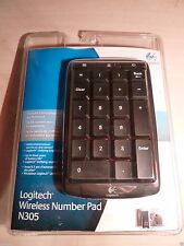 NEW BLUE! Exclusive Number Pad Keyboard LOGITECH N305 discontinued keypad rare