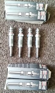 Renault 18 19 20 21 25 30 Clio Espace Trafic Heater Glow Plugs Set of 4 CH137
