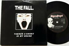 """The Fall - There's A Ghost In My House 7"""" Single 1987 1st UK Beggars Banquet EX"""