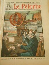 Le poste de T.S.F. dans un train du réseau de l'Etat Print 1930