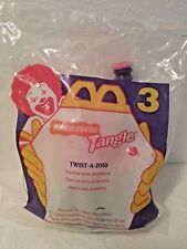 1996 MCDONALD'S HAPPY MEAL TANGLE #3 TWIST A ZOID  NEW IN PACKAGE NIB