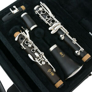 Brand New YAMAHA Clarinet - YCL 450M Duet SILVER PLATE - SHIPS FREE WORLDWDE