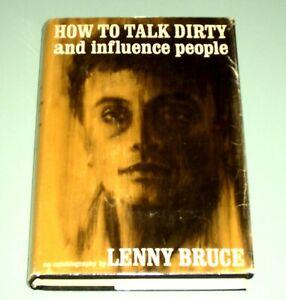 LENNY BRUCE  HOW TO TALK DIRTY INFLUENCE PEOPLE 1965 Marijuana Sex Comedy Police