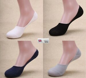 MENS INVISIBLE LOAFER BOOT NO SHOW TRAINER FOOTSIES LOW CUT SHOE LINER SOCKS