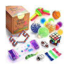 Sensory Fidget Toys Set, 25 Pcs., Stress Relief and Anti-Anxiety Tools Bundle...