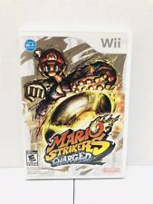 Mario Strikers Charged (Nintendo Wii, 2007) Free Shipping!!