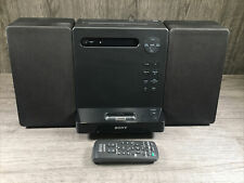 More details for sony micro hifi component system cmt-lx40i - ipod dock dab radio cd with remote