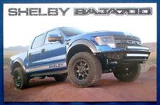 Prospekt brochure Datenkarte 2011 - 2014 Ford F-150 Raptor Baja 700 (USA)