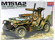 1/35 Scale M151A2 Tow Missile Launcher Model Kit - Academy #13406