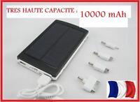 10000 mAh Batterie externe solaire chargeur de secours universel USB voyage wild