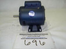 NEW! Leeson AC motor 100000, .25hp, 1725rpm, S56, 115/230vac, ODP, 1ph, A4C17DH1