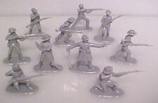 20 Confederate Infantry Civil War AIP plastic soldiers army  Armies In Plastic