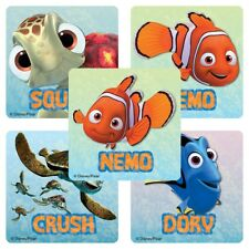 20 Finding Nemo STICKERS Party Favors Supplies Birthday Treat Loot Bags Teacher