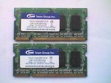 2 TEAM TSDD1024M667C5-E (1GB DDR2 PC2-5300S 667MHz SODIMM 204-pin) DRAM - V.