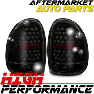 For 2000 Chrysler Voyager LED Tail Light Black / Smoke