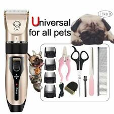 Pet Dog Shaver Clipper Hair Professional Grooming Cordless Electric Trimmer Kits