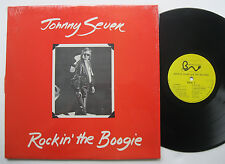 LP Johnny seven-rockin 'the Boogie-MINT-peter Gunn pete zangara tim wagar