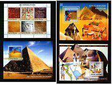 Guinea-Bissau ** Lot  - Ägypten Pyramiden Hieroglyphen ...