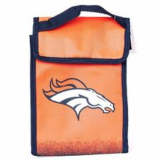 Denver Broncos Insulated Lunch Bag Sack Cooler NFL Football Licensed