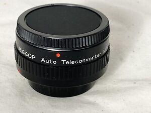 Canon FD Fit ~ Jessop 2X Teleconverter - Clear Optics - Near Mint