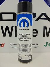 New Mopar Throttle Body Cleaner 13oz Aerosol Factory Oem