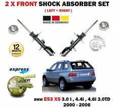 FOR BMW X5 E53 3.0 4.4 4.6 TD 2000-2006 2x FRONT AXLE SHOCK SHOCKER ABSORBER SET