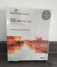 MICROSOFT SQL SERVER 2005 WORKGROUP EDITION with 5 CALS ( A5K-01017)
