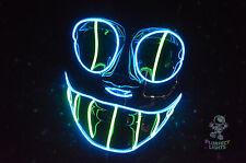 El Wire Cheshire Cat RaveParty Cosplay Halloween Costume Vendetta Handmade Mask