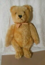 "Vintage/Antique Steiff  Jointed Mohair Teddy Bear  11""  Working Squeaker"
