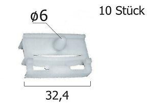 BMW Türverkleidung Befestigung Verkleidung Clips Neu Weiß 10 Stück C30110