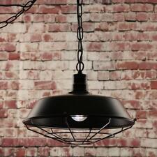 Halton traditionnel industriel lampe plafonnier suspendue avec fil Garde, maison