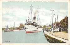 Dalhousie Ontario Canada Northumberland Harbor Antique Postcard K19747