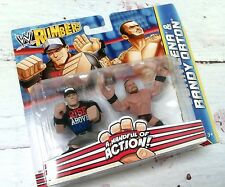 New WWE Rumblers John Cena & Randy Orton Wrestling Figures 2012 Toys