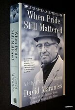 VINCE LOMBARDI LIFE STORY BOOK WHEN PRIDE STILL MATTERED GREEN BAY PACKERS