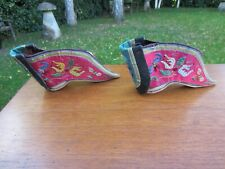 More details for antique chinese lotus shoes pair 12 cm in length vgc concubine qing foot binding