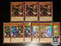 YuGiOh! Ignis Heat, The True Dracowarrior Set (Majesti Maiden Dinmight Knight)