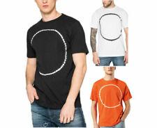 Diesel T Cereck Camiseta Hombre Manga Corta Cuello Redondo Casual Verano Algodón