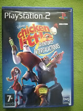 CHICKEN LITTLE AVENTURES INTERGALACTIQUESI - Jeu  complet playstation 2 PS2