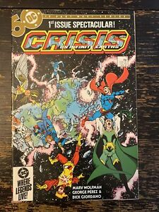 Crisis On Infinite Earths #1 - 1st App. Blue Beetle (DC) Free Combine Shipping